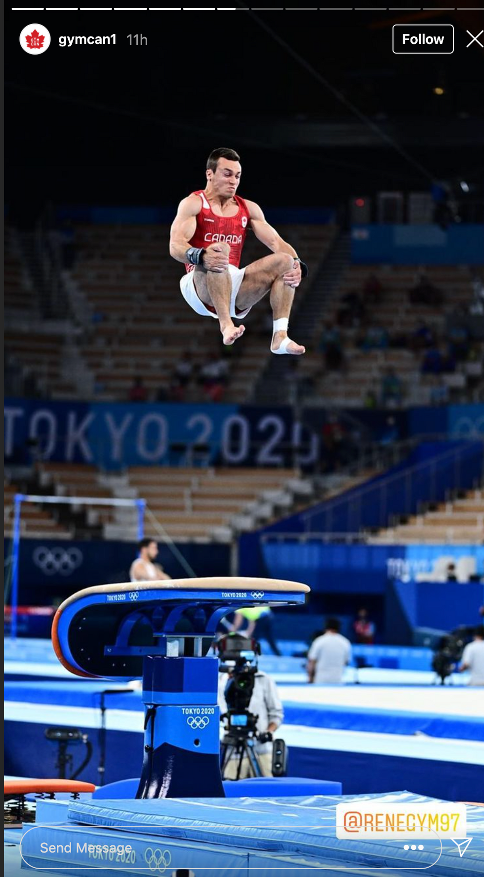 6 Photos Of Quebec Gymnast Rene Cournoyer Blowing Our Minds At The Tokyo Olympics