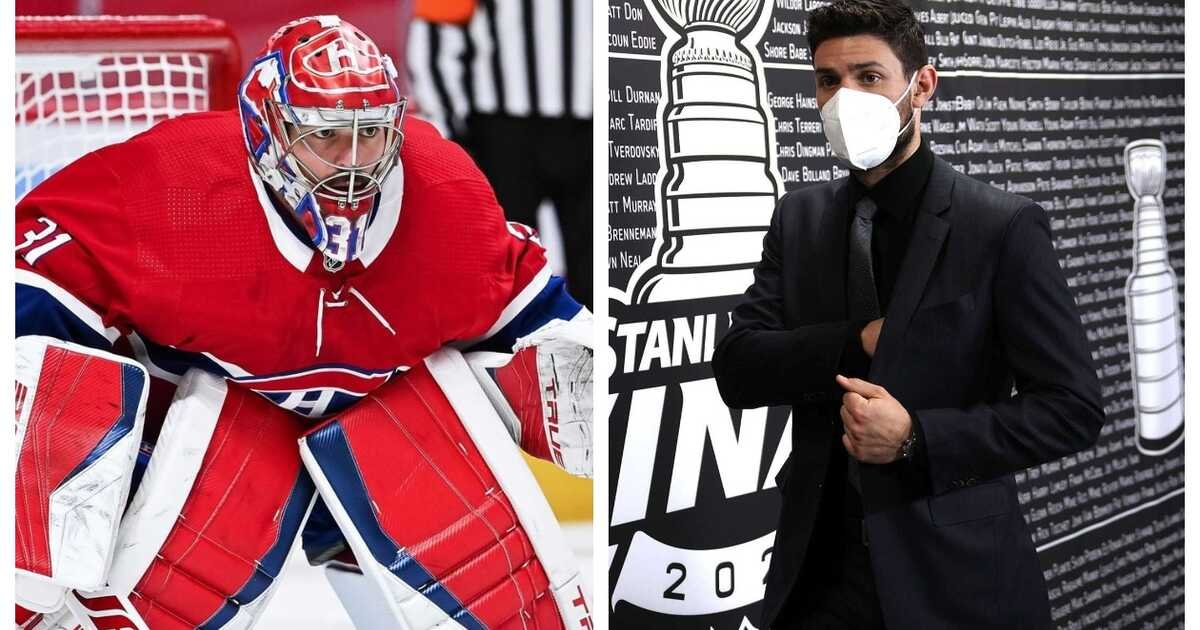 Carey Price's Reaction To The Montreal Canadiens' Game 4 Win Went Viral (VIDEO)