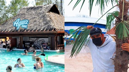 This Tropical Campsite Near Montreal Is Just Like A Cuban Resort & You Can Reserve Now