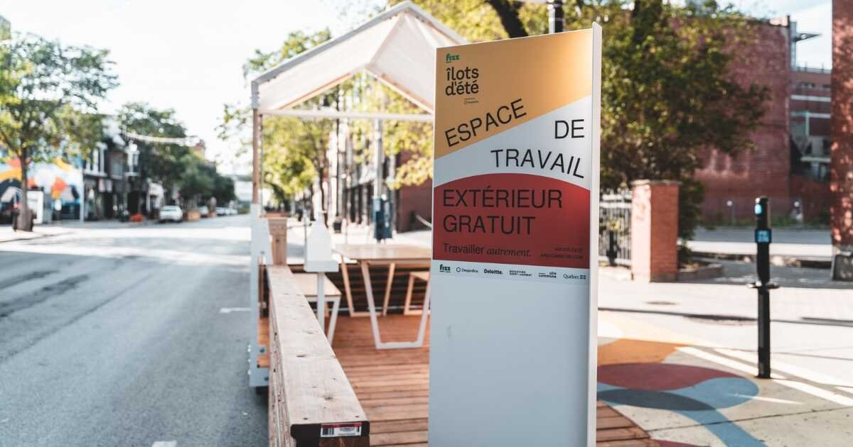 Montreal Has 23 Brand-New Outdoor Workspace Terrasses With Free WiFi & Outlets