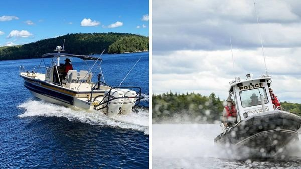 Quebec Police Arrested 10 People For Driving Boats While Intoxicated Last Weekend