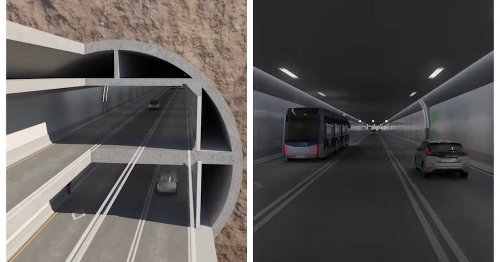 Quebec Unveiled Plans For A Huge New Tunnel Under The River At Quebec City (VIDEO)