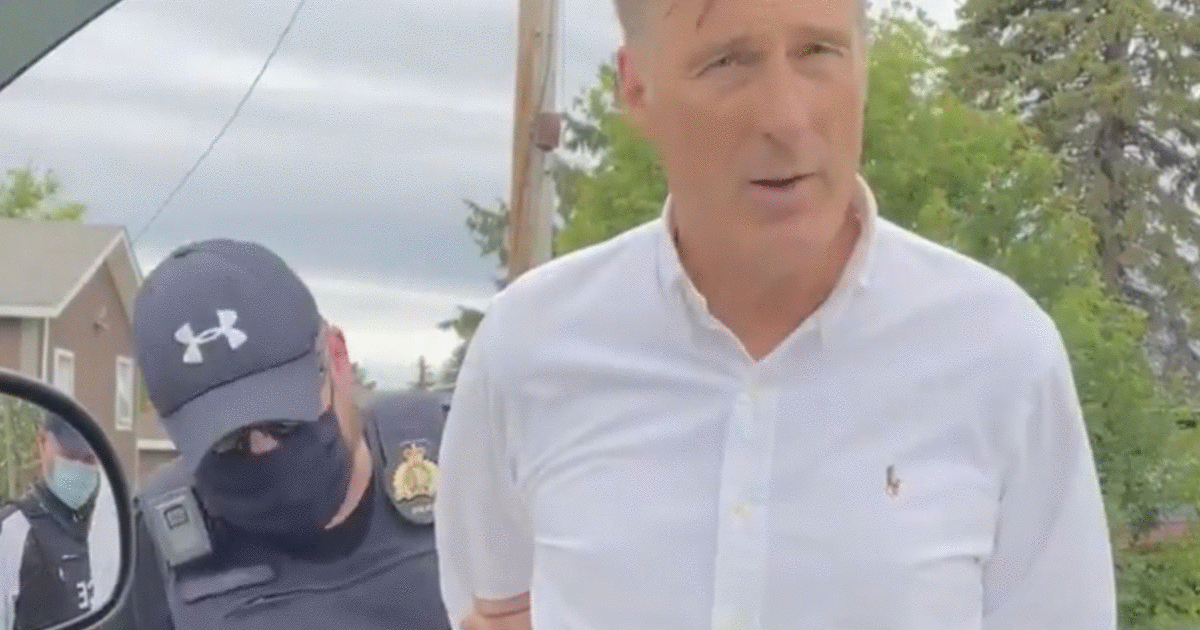 Maxime Bernier Spent 8 Hours In Jail After He Was Arrested At A Manitoba 'Freedom Rally'