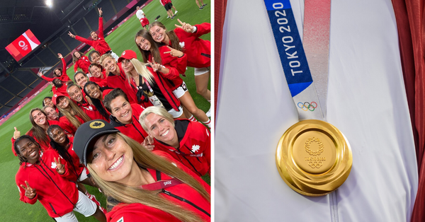Canada's Women's Soccer Team Just Upset The U.S. & Could Win Gold For The First Time Ever