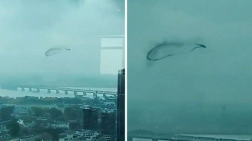 A Strange Black Cloud Was Seen Hovering Over Montreal & It's Super Mysterious (VIDEO)
