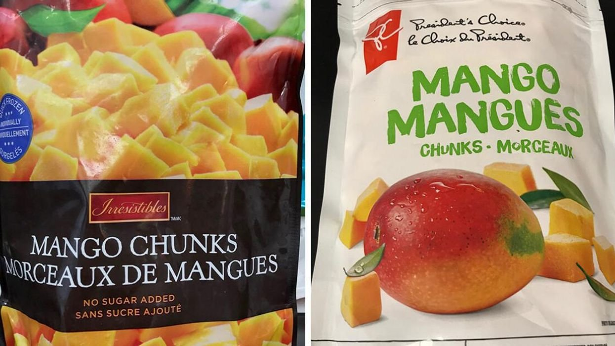 Frozen Mango Brands Sold In Quebec Have Been Recalled Due To Possible Hep A Contamination