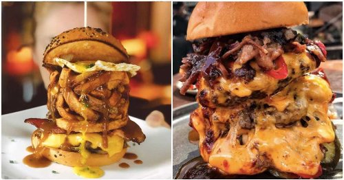 6 Of The Most OUTRAGEOUS Burgers That You Can Find In Montreal