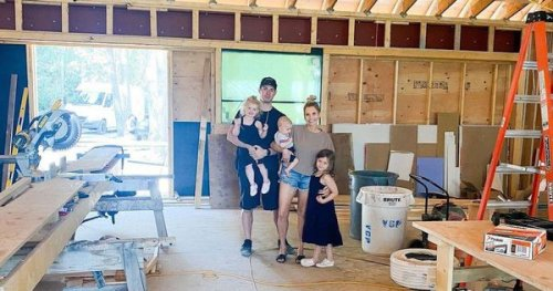 Carey And Angela Price Are Renovating Their Kelowna Home & Photos Online Give A Sneak Peek