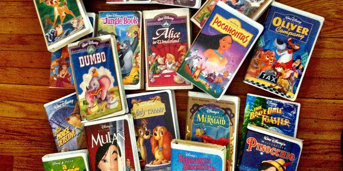 Your Old Disney VHS Movies Can Be Worth $3,000