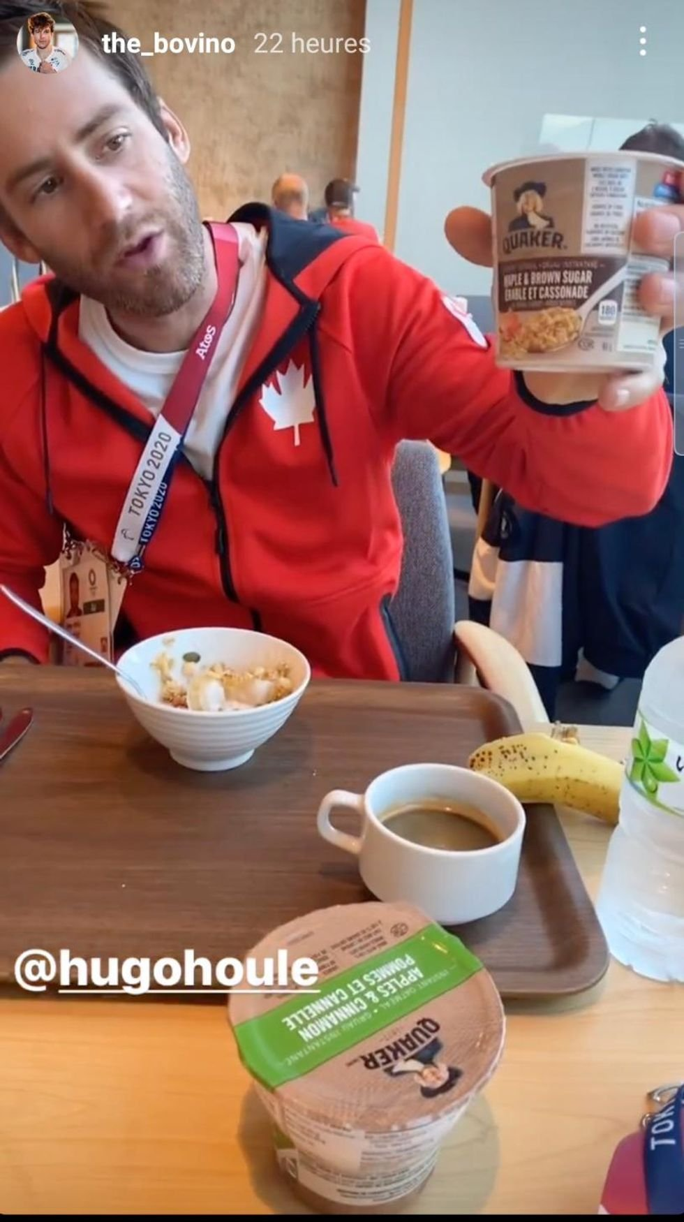 An Athlete Brought Maple Syrup To The Olympics & It's The Most Quebecois Thing Ever