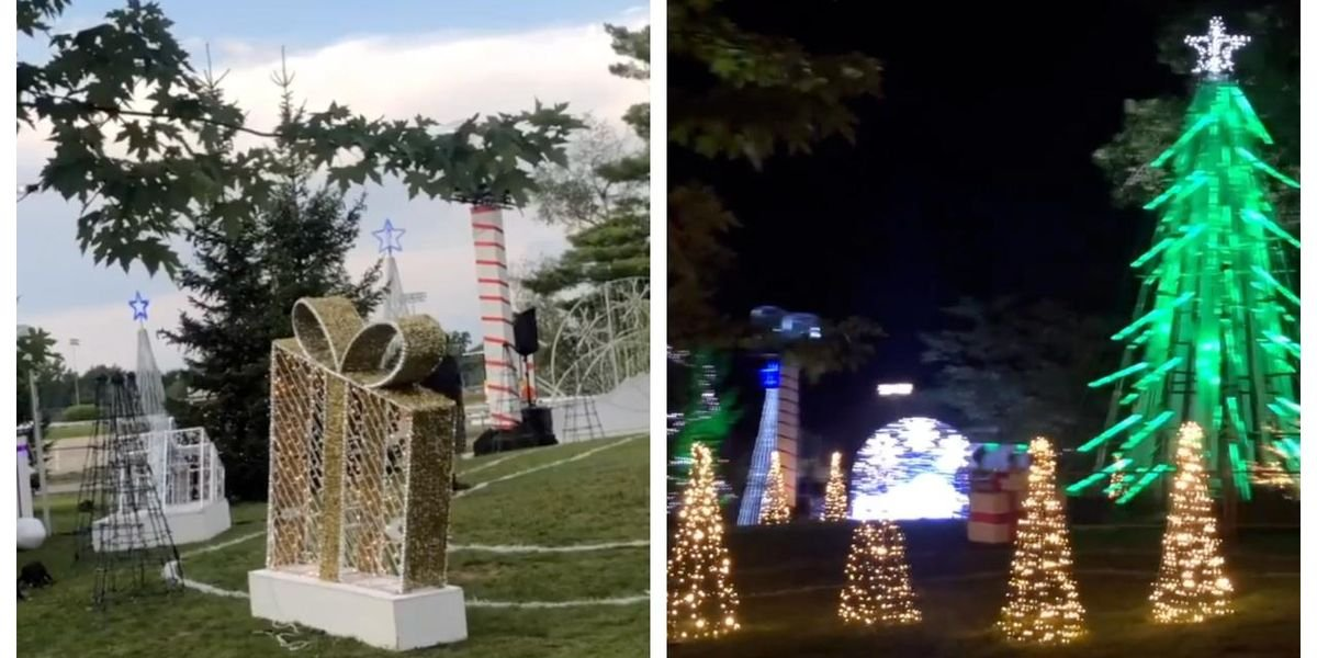 There Are Christmas Celebrations Happening Near Montreal Even Though It's Definitely July