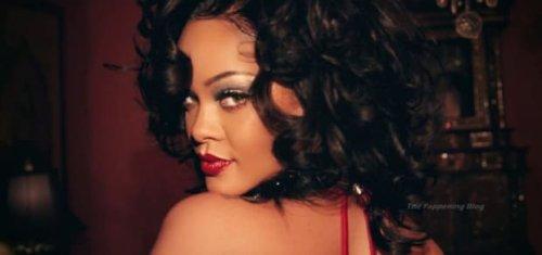 New Makeup Free Rihanna Pics LEAK . .. Fans Say She Looks 'BASIC'!!