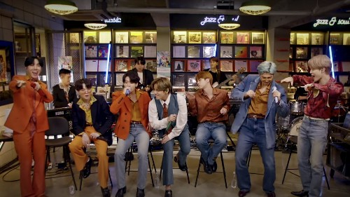 BTS Bring Fall-Ready '70s Disco Threads To Intimate Tiny Desk Concert