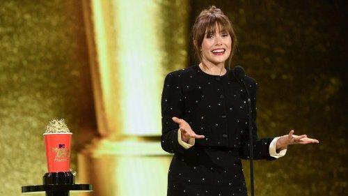 Elizabeth Olsen Looks Back In Movie & TV Awards Speech: 'I've Loved Playing This Part For Seven Years'