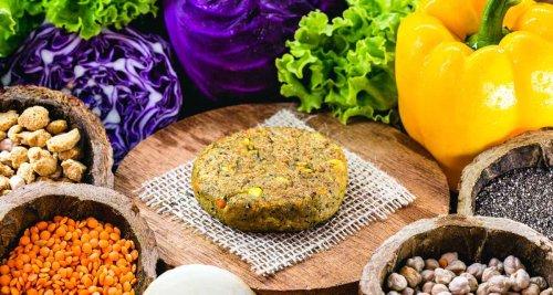Receita de hambúrguer de legumes light e vegano