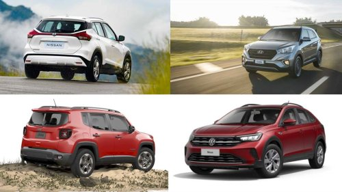 SUVs e crossovers zero-quilômetro que ainda custam menos de R$ 100 mil