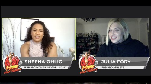 Sheena Ohlig and Julia Föry Talk About Switch from Physique to Bodybuilding