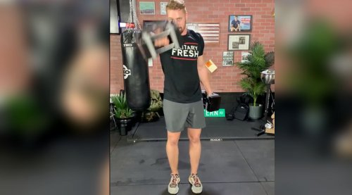 Build Strength With Erik Bartell's Upper-Body HIIT Hybrid Workout