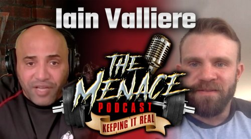 'Breakthrough star' Iain Valliere Reveals His Bodybuilding Roots on 'The Menace Podcast'