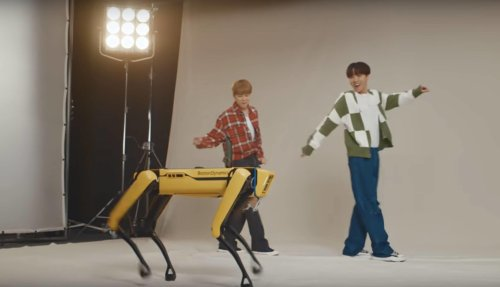 BTS im Tanzduell mit den Robotern von Boston Dynamics