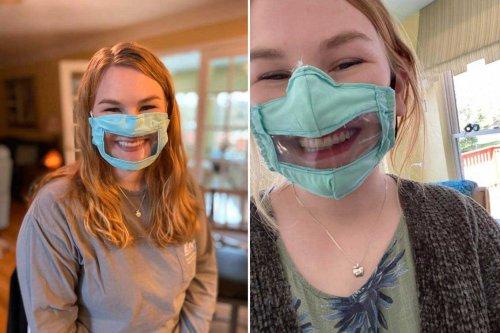 Üniversite öğrencisi işitme engelliler için yüz maskesi tasarladı