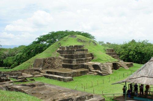 Una erupción permitió la construcción de la enorme pirámide maya en El Salvador
