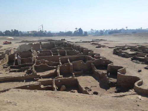 Aparece la ciudad perdida de Luxor