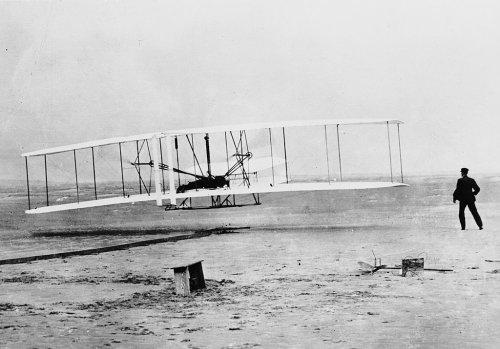 Cuando los hermanos Wright llegaron a Marte