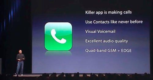 Así vino el iPhone a cambiar el mundo de la telefonía móvil