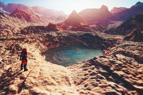 La NASA encuentra un antiguo oasis en Marte