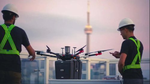 Un dron entrega unos pulmones para trasplante por primera vez en la historia