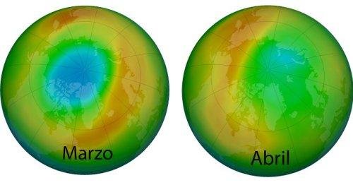 Se cierra el gran agujero de la capa de ozono del Ártico