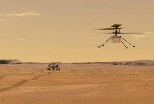 Cosas que debes saber sobre el helicóptero Ingenuity de la NASA