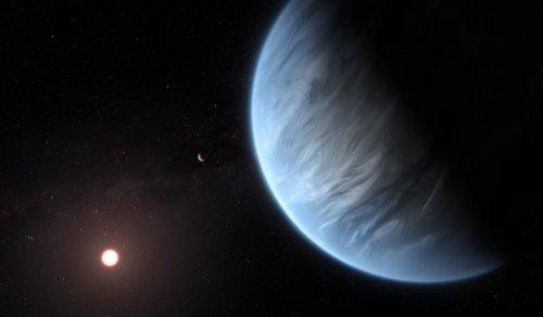 Detectan agua en la atmósfera de un planeta potencialmente habitable