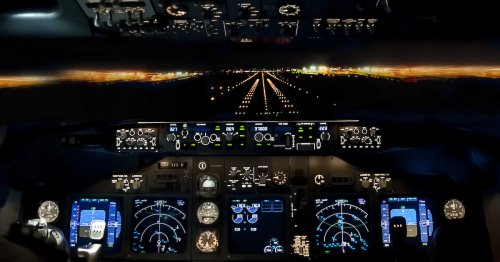 Los pilotos de lineas aéreas usan una tablet para esto