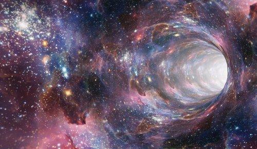 Hawking creía que los agujeros negros podrían servir de ruta a otro universo