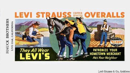 La leyenda de Levi Strauss