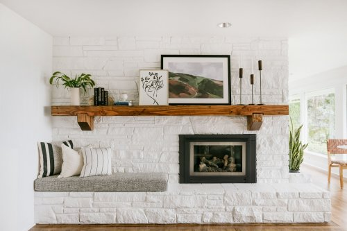 29 of the Most Well-Decorated Fireplaces We've Ever Seen