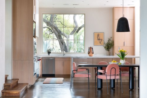 This Rainbow-Hued Austin Home Is the Perfect Retreat for One Creative Couple