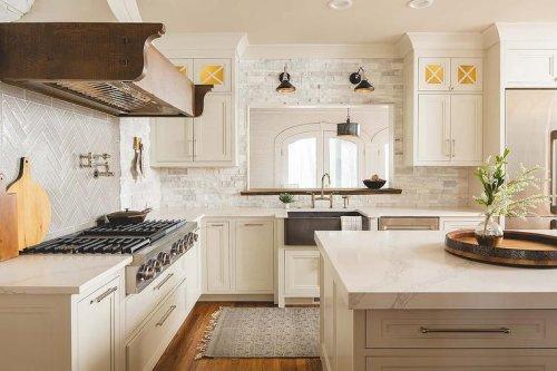 14 Stone Kitchen Backsplash Ideas That Really Rock