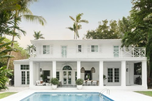 This Jaw-Dropping Beach Home Combines Art Deco Architecture With Modern Miami Vibes