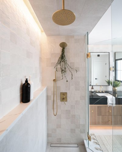 30 Gorgeous Bathroom Shower Ideas We're Swooning Over