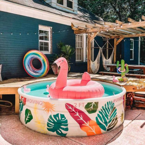10 Sweet and Stylish Stock Tank Pool Designs You'll Love