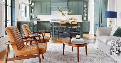 This Is How You Make a 270 Square Foot Family Room Look Spacious