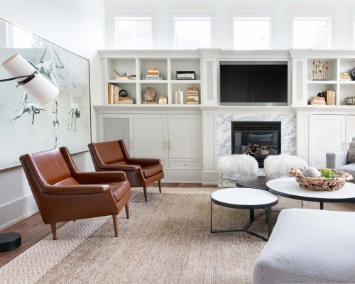 20 Built-In Ideas to Make Your Living Room Beautiful and Functional