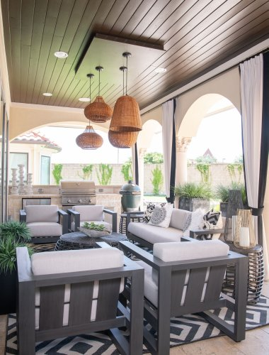 19 Outdoor Living Room Ideas Perfect for Relaxing Summer Nights