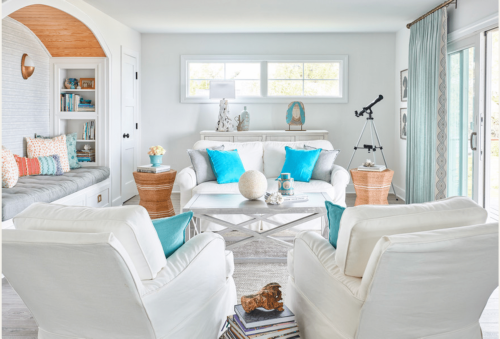 This Designer Rebuilt a Family Room After a Devastating Hurricane — Here's How