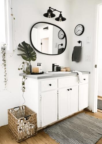 25 Brilliant Bathroom Countertop Storage Ideas to Stay Organized