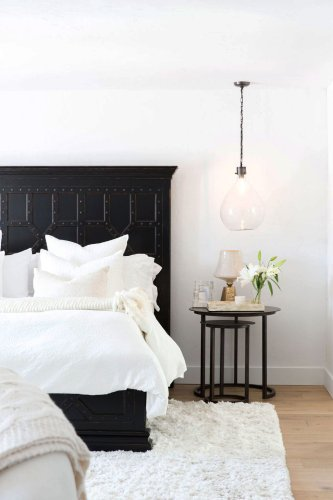 21 Black and White Bedroom Ideas That Are Clean, Classic, and Chic
