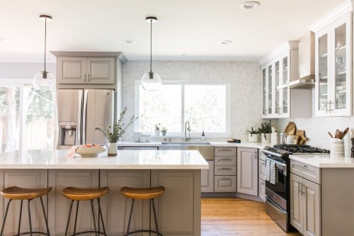 22 Gorgeous Gray Kitchen Cabinet Ideas Sure to Refresh Your Space